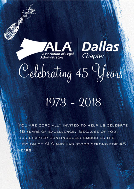 45th Anniversary Invite