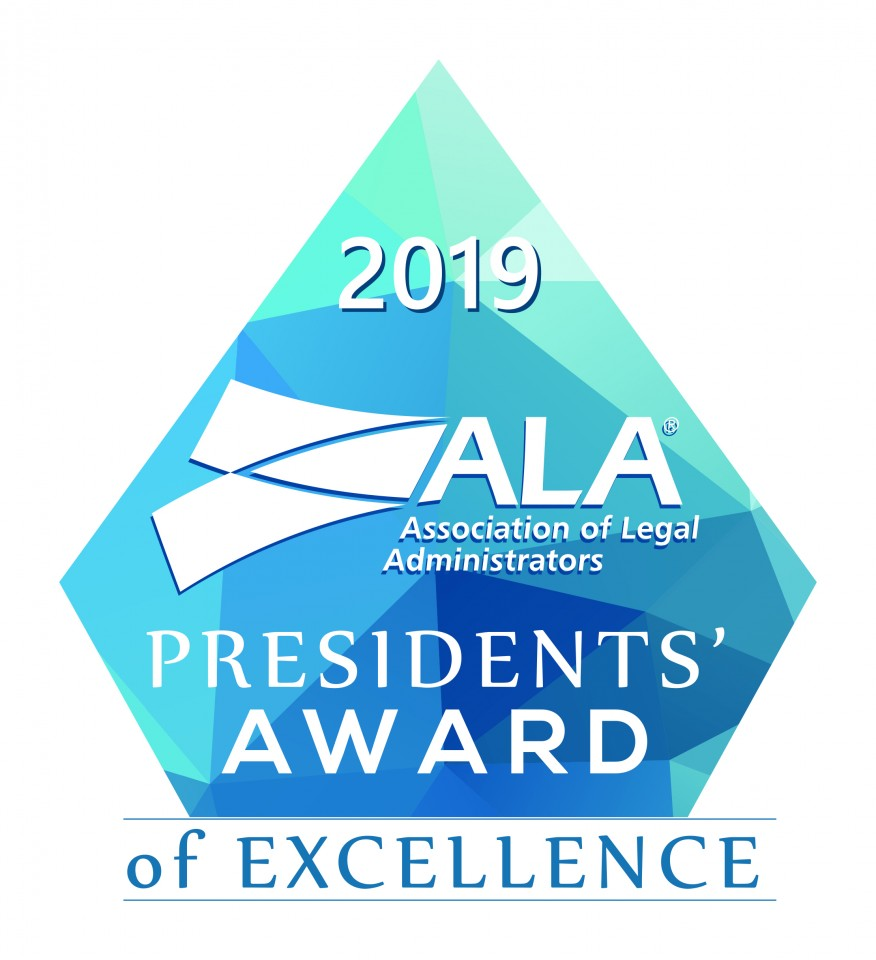 2019 Presidents' Award of Excellence